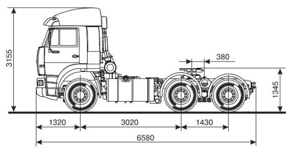 камаз 65116: технические характеристики, фото тягача